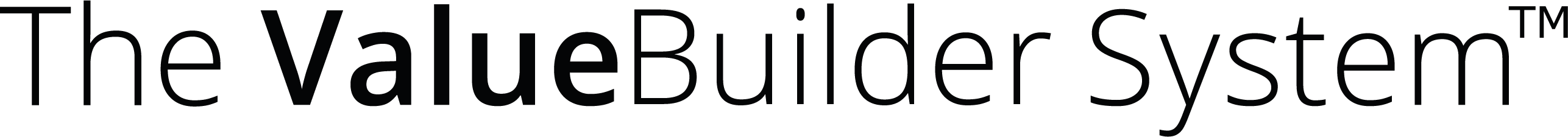 The Value Builder System logo